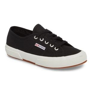 Superga classic black sneakers